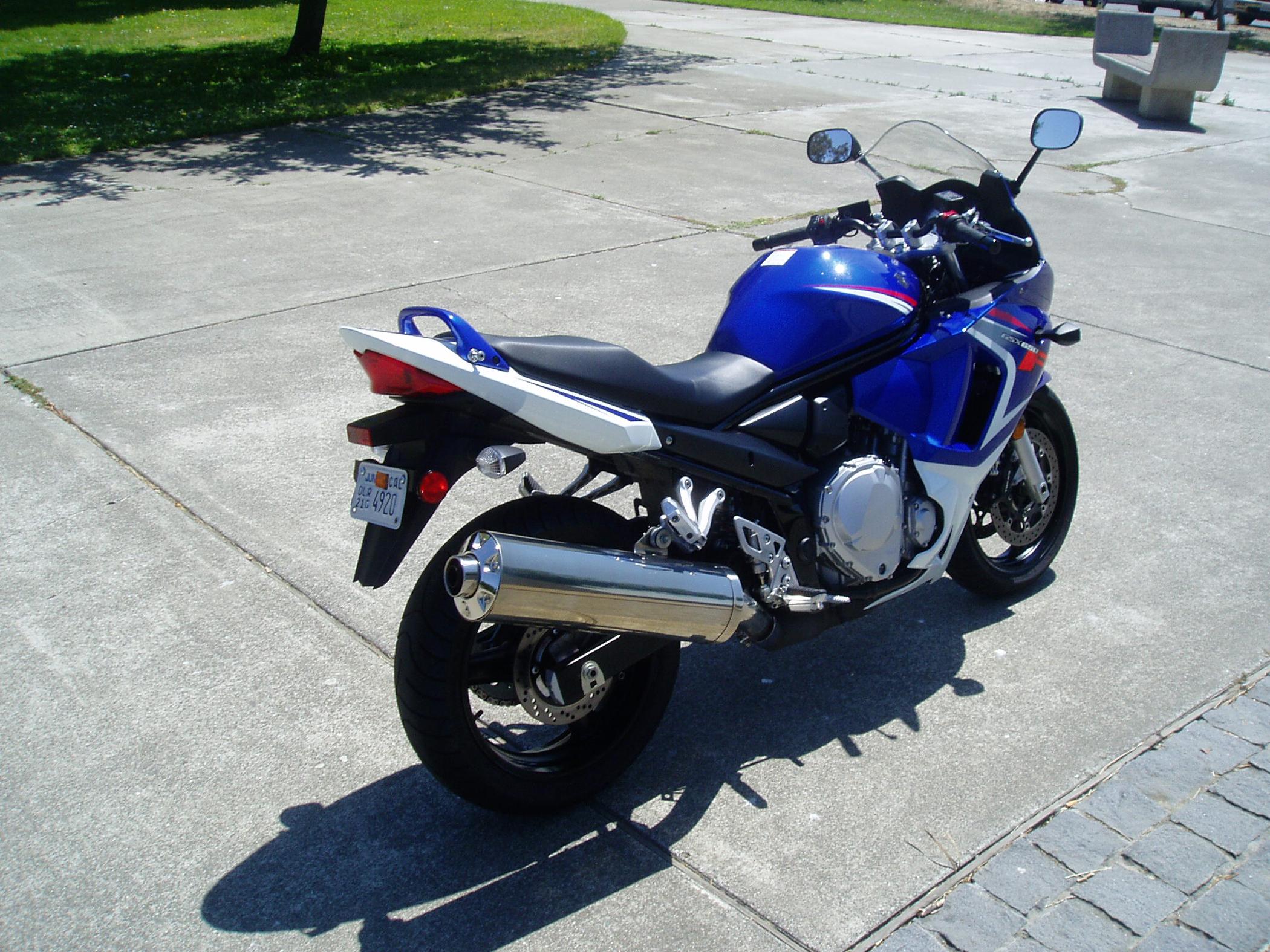 An All-new Sportbike From Suzuki  Gsx650f