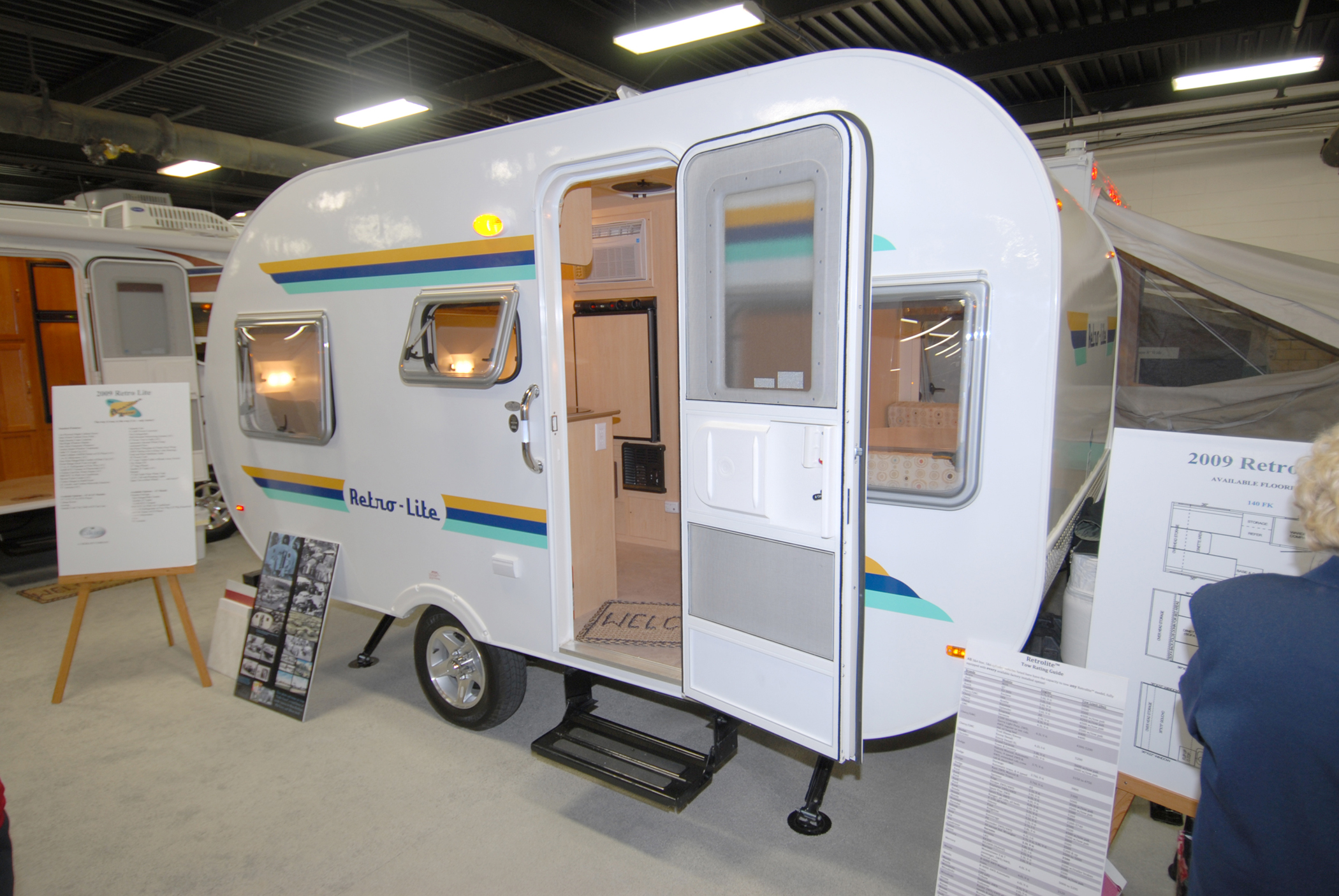 Retro Style Trailers Make A Lot Of Sense For Todays Modern Market In Keeping With The Oldies Theyre Small Which Makes Them Towable By Smaller