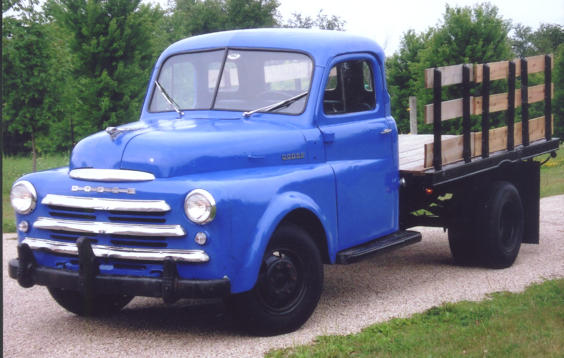 Young Student Restores Grandfathers 1949 Dodge Truck Classic 1948 Ford Grain X Zoom