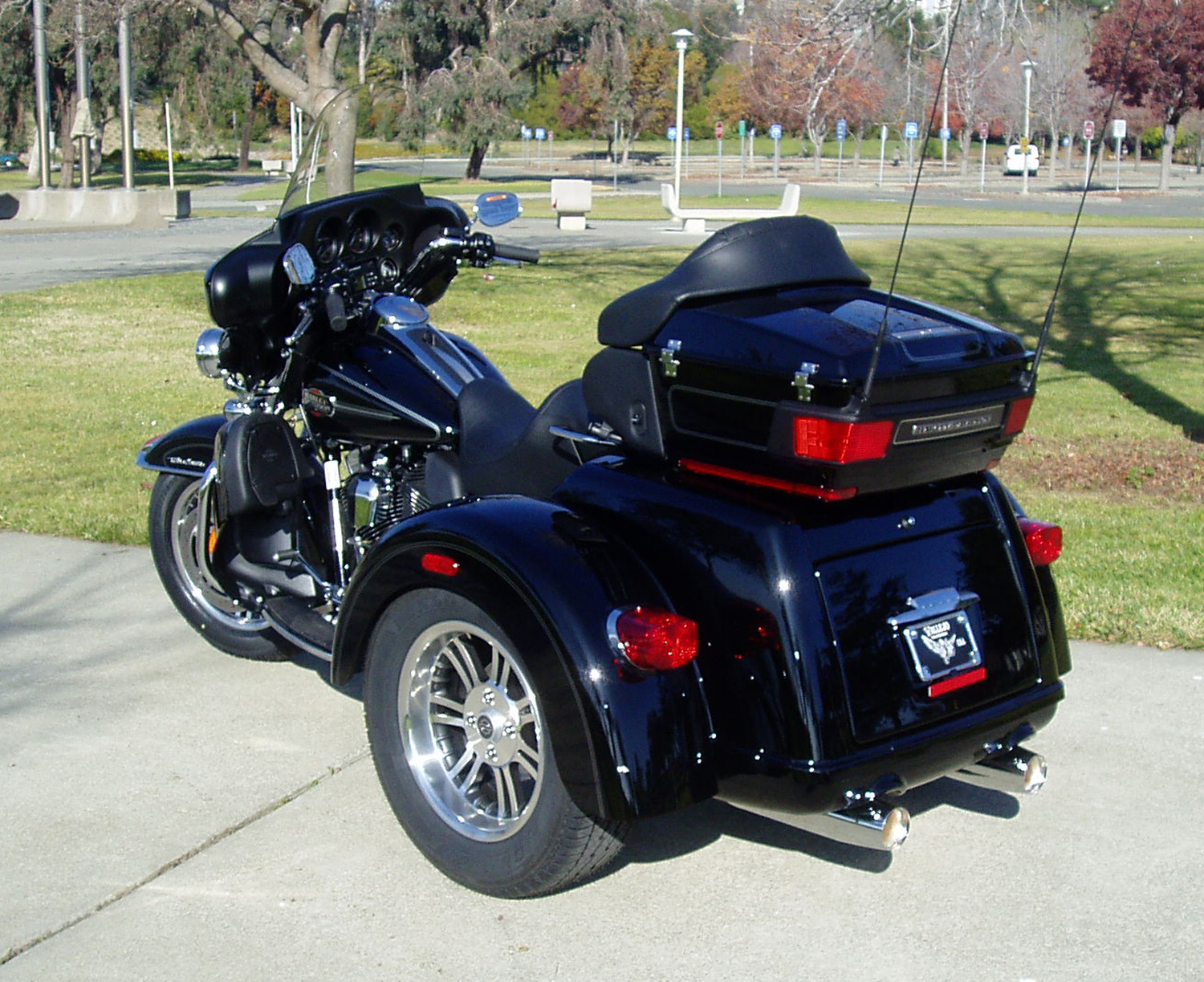 Harley S Tri Glide Ultra Classic A Real Factory Three