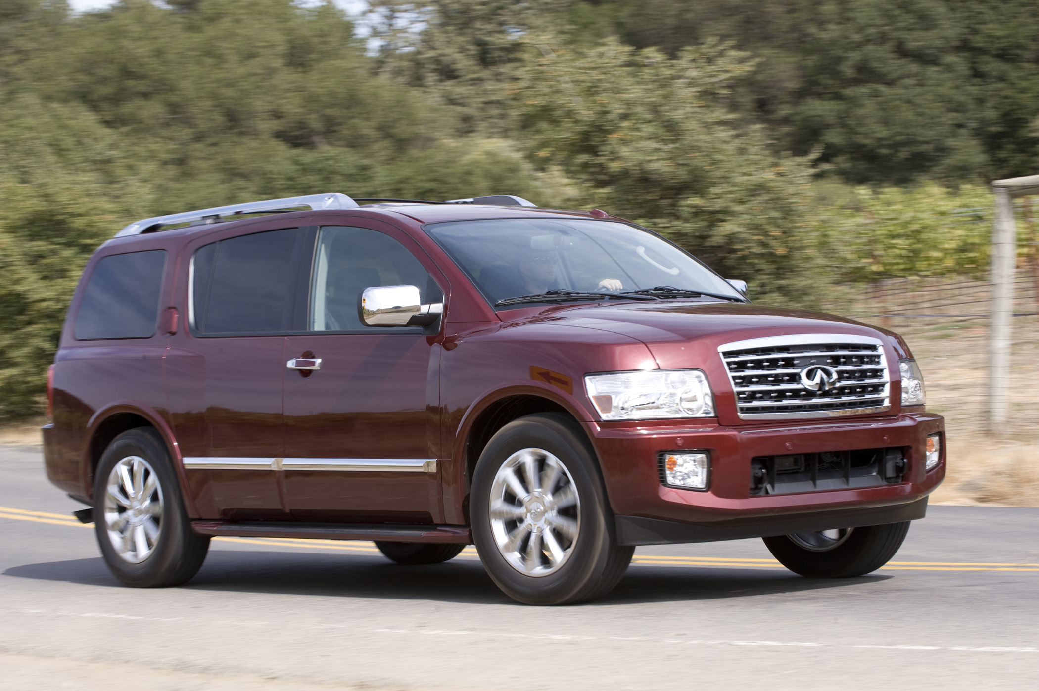 Infiniti QX is in a specialty segment large luxury SUV Get