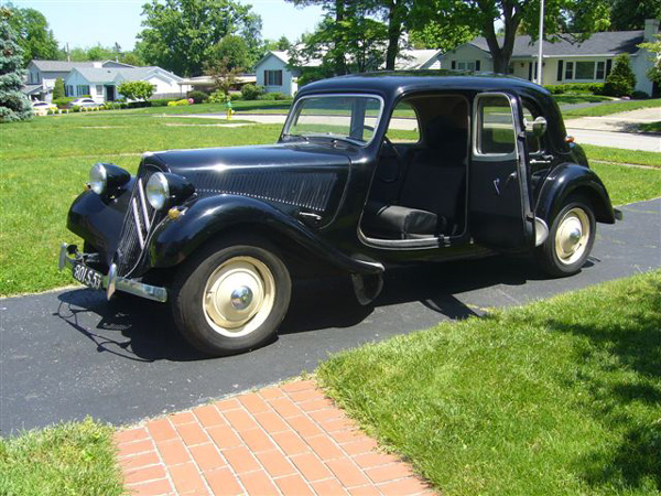 1952 Citroen Acquired By Kentucky Man At Frenchman S Referral