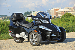 2010 Can-Am Spyder Roadster Answers Bike Touring Demand