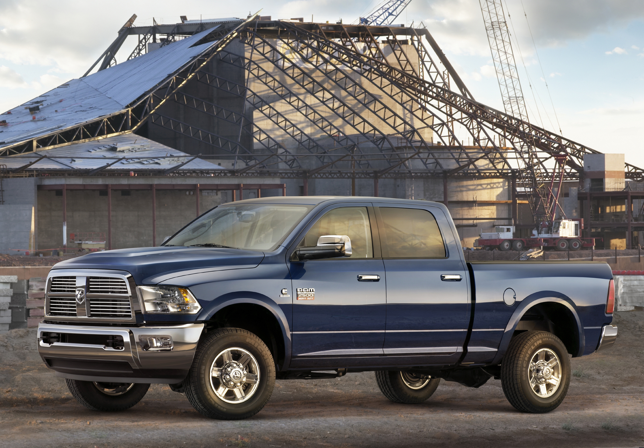 Ram heavy duties are available in five trims st slt trx laramie and power wagon two box sizes 6 feet 4 inches and 8 feet are available