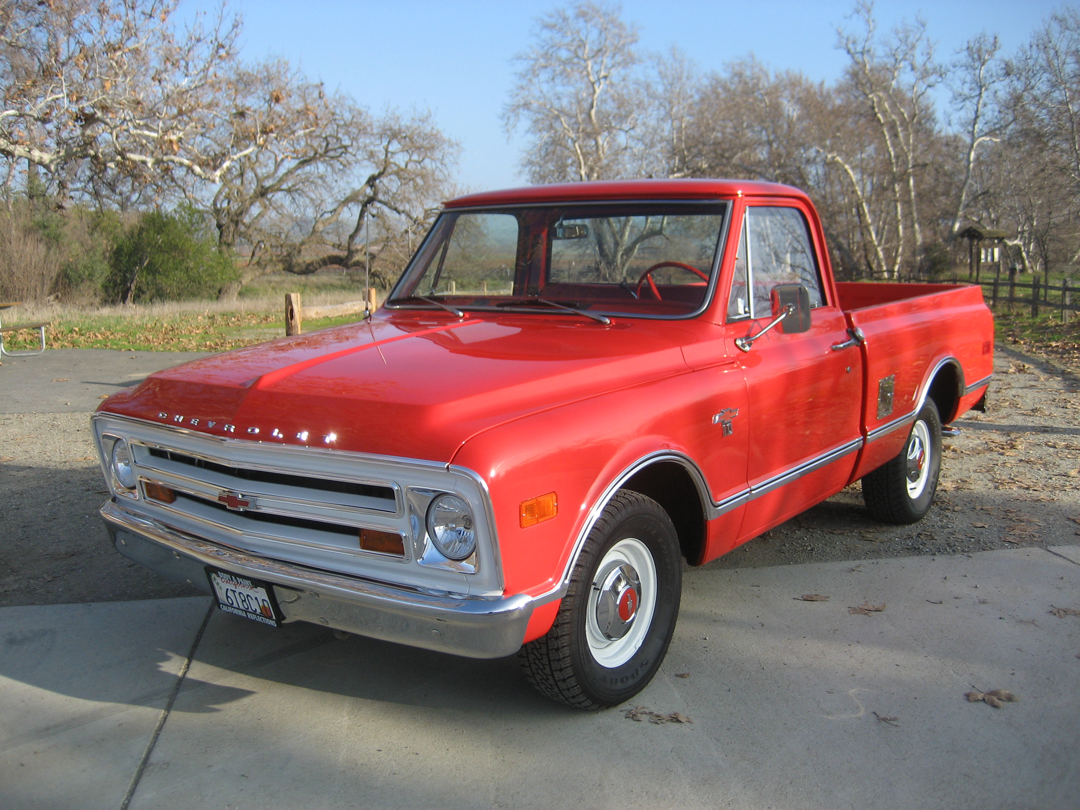 1968 chevy pickup truck has remained in the family classic classics groovecar. Black Bedroom Furniture Sets. Home Design Ideas
