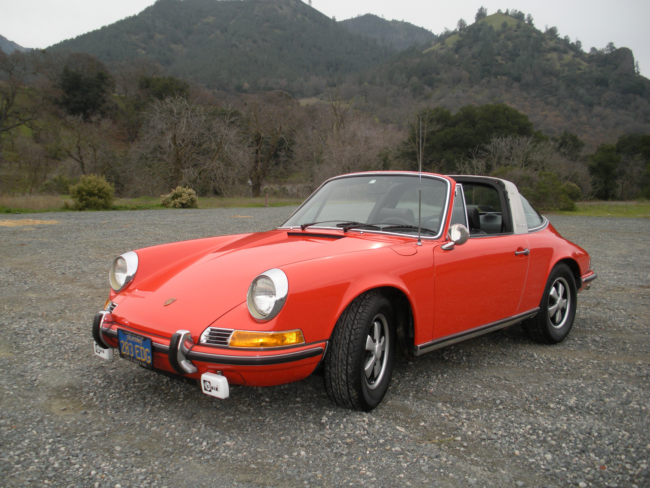 1971 Porsche 911e Targa Picked Up In Europe Shipped To U