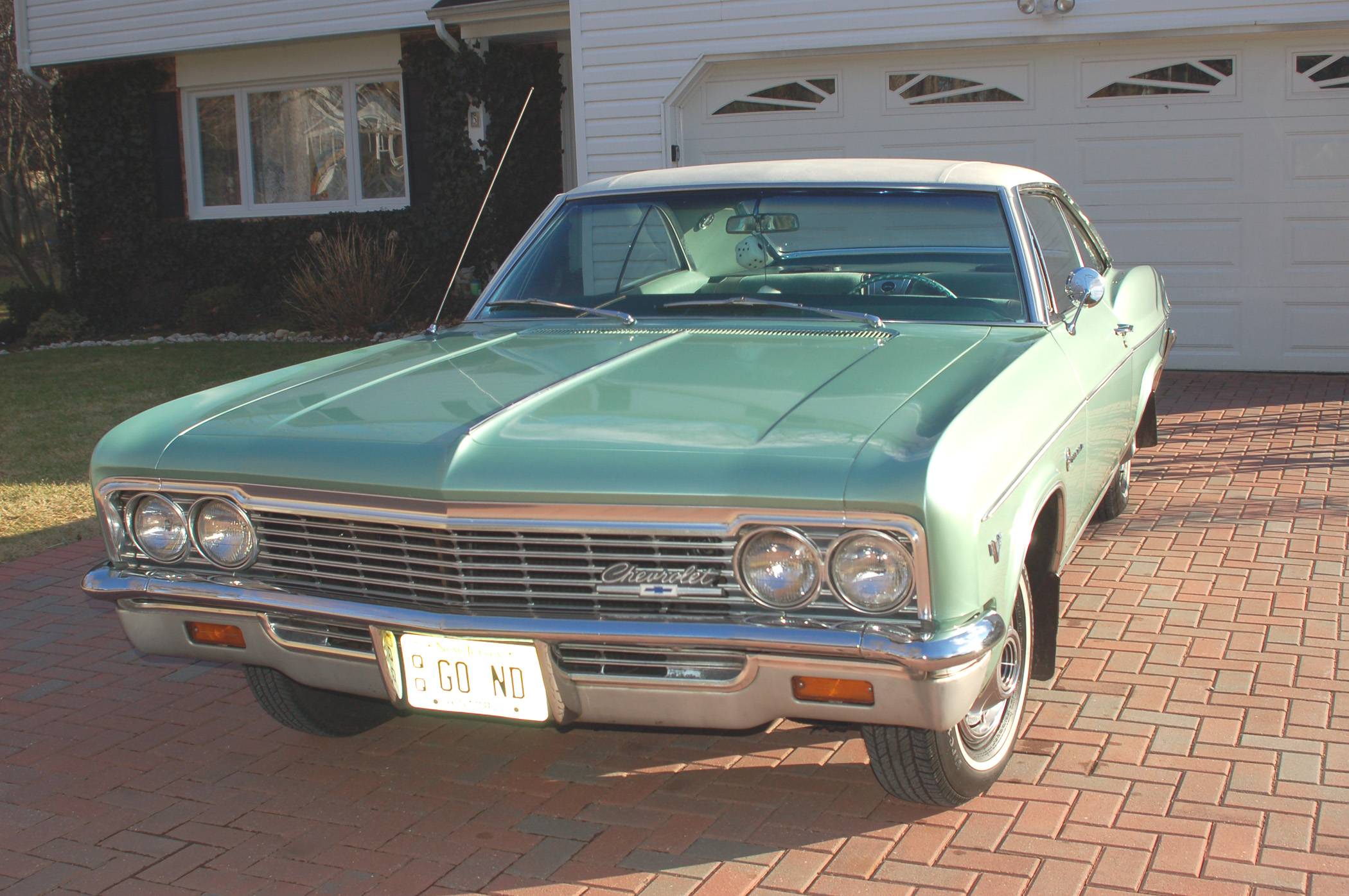 1966 chevrolet impala located in jersey  rust