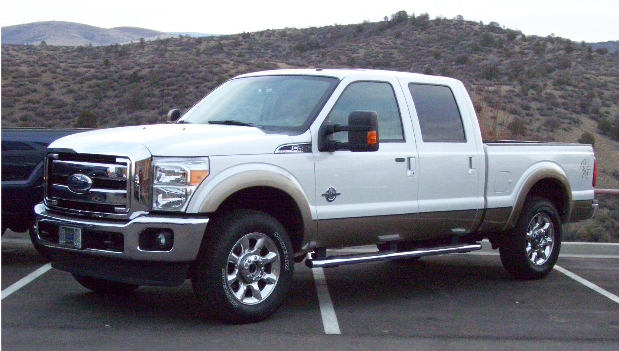 2011 ford f250 diesel engine