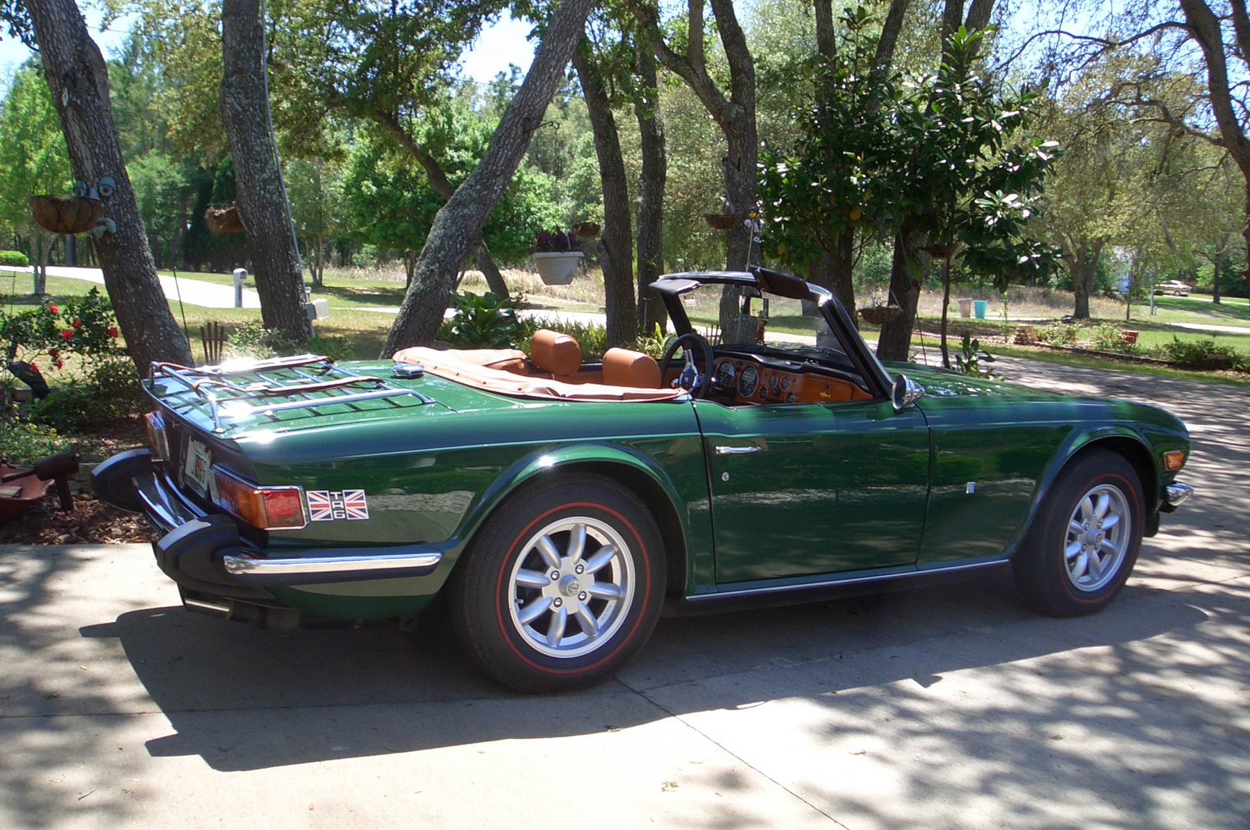 Triumph TR6 Went From Illinois Michigan To Sunny Florida