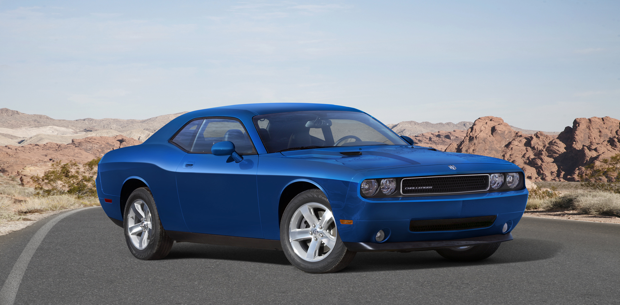 tickled pink with 40 years of dodge challenger new on wheels groovecar. Black Bedroom Furniture Sets. Home Design Ideas