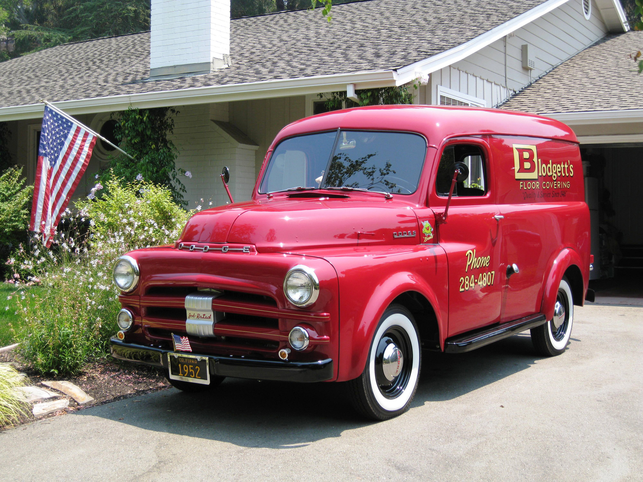 1952 Dodge Panel Is A `Work Truck\' -- For Business Sales - Classic ...
