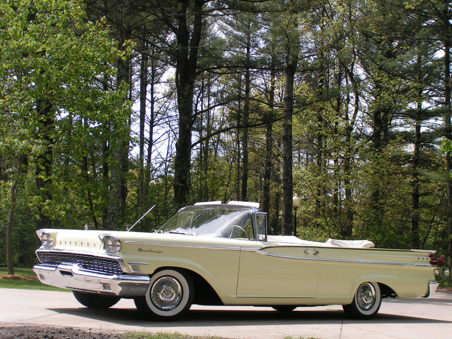 0 Down Payment Car Lease >> Man Tracks Down Grandmother's 1959 Mercury Monterey Convertible - Classic Classics - - GrooveCar