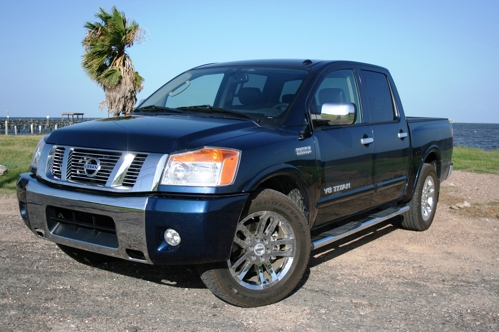 2010 nissan titan rocks with heavy metal enhancements. Black Bedroom Furniture Sets. Home Design Ideas