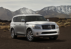 2011 Infiniti QX56: Dramatic, Forceful and Luxurious
