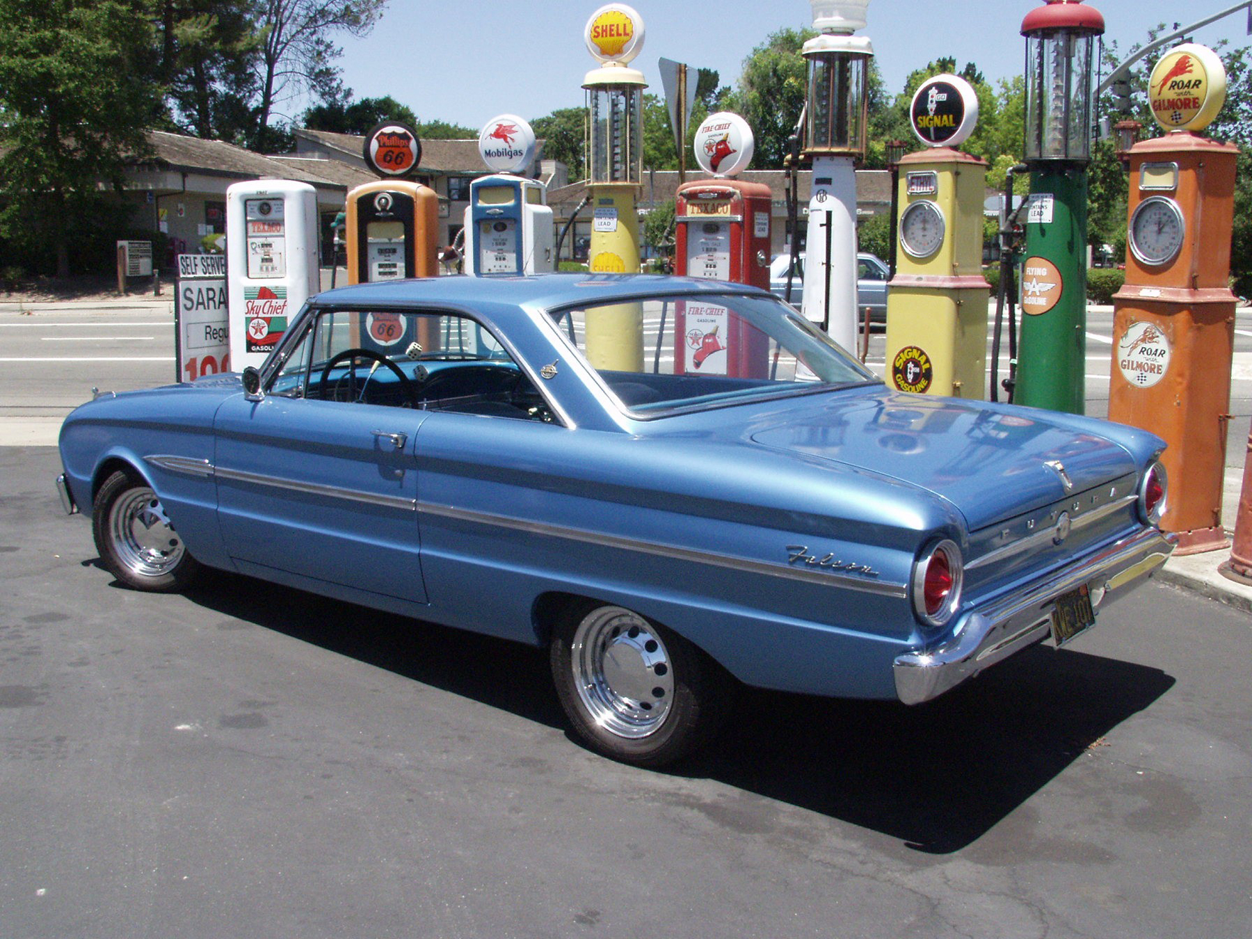 1963 ford falcon futura gets great gas mileage