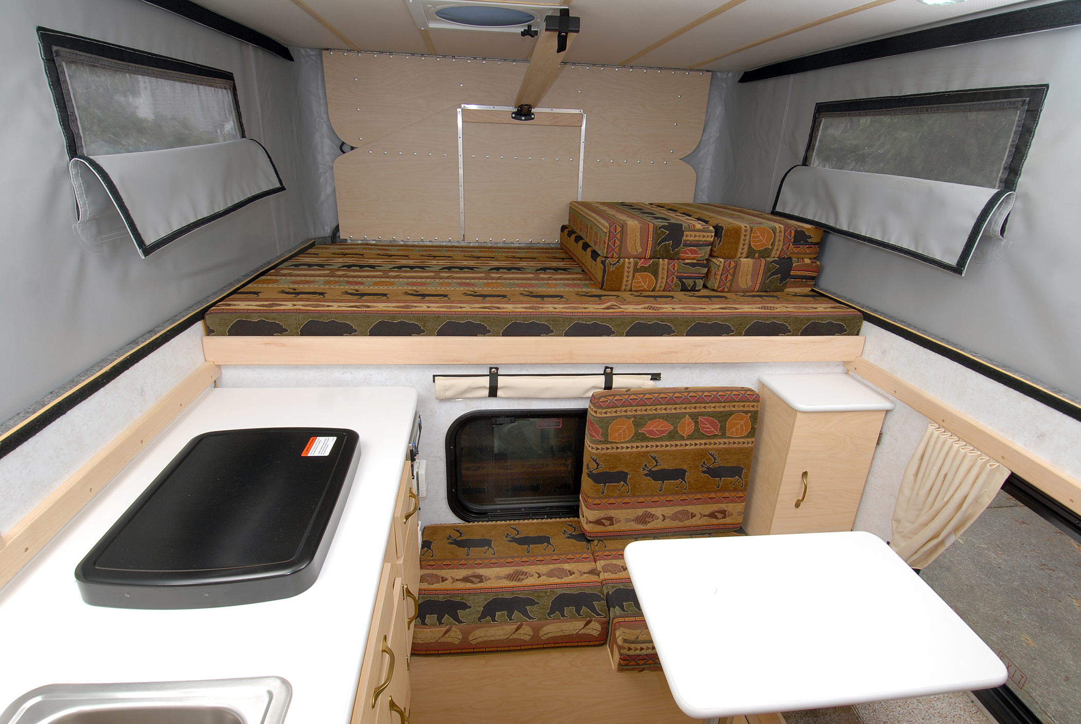 Living With A Small RV The Fleet Has An 80 Inch Floor Length Is 75 Inches Wide Overall And Approximate 20 X 60 Walkable Space