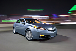 2012 Acura TL -- Revised Styling, Enhanced Technology