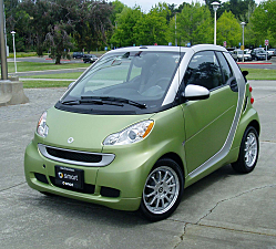 2011 Smart Fortwo Passion Cabriolet -- Playful Appeal