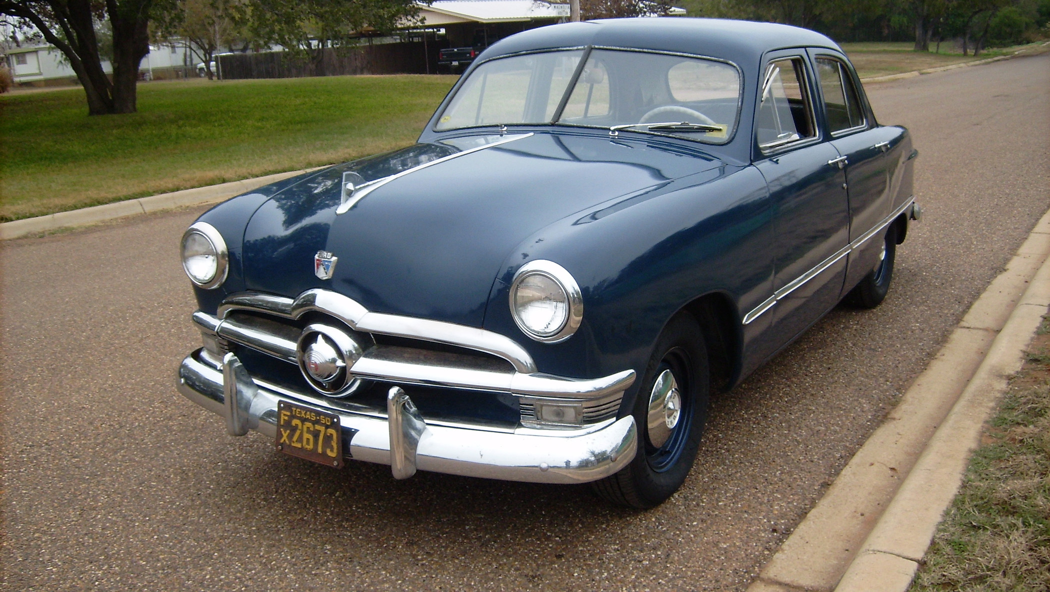Granddaughter Advises Pops To Buy 1950 Ford Sitting On Trailer Dodge Truck Wiring Harness X Zoom