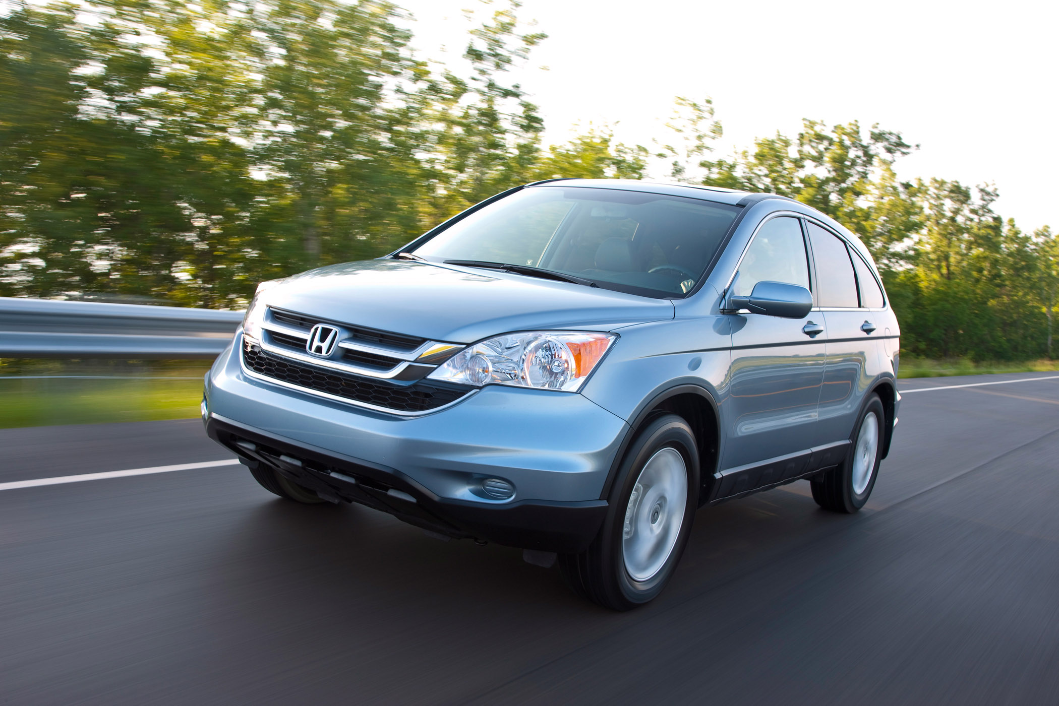 Manufacturer photo: The 2011 Honda CR-V is a versatile and accommodating crossover SUV package with space for up to five passengers and a versatile cargo area for utility