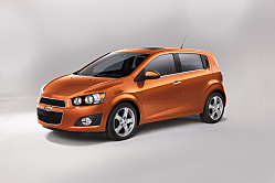 2012 Chevrolet Sonic Takes on Subcompact Youth Segment