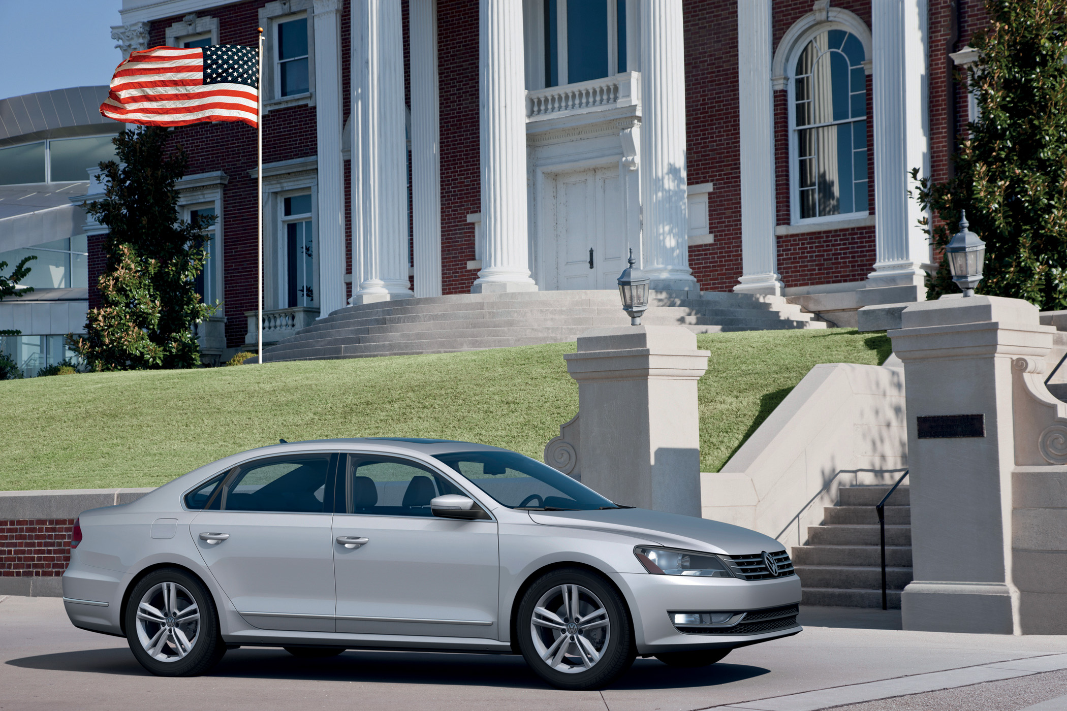 Manufacturer photo: The 2012 Passat is developed as a larger vehicle with premium features and handling characteristics that perfectly matches it with the tastes and lifestyles of Americans