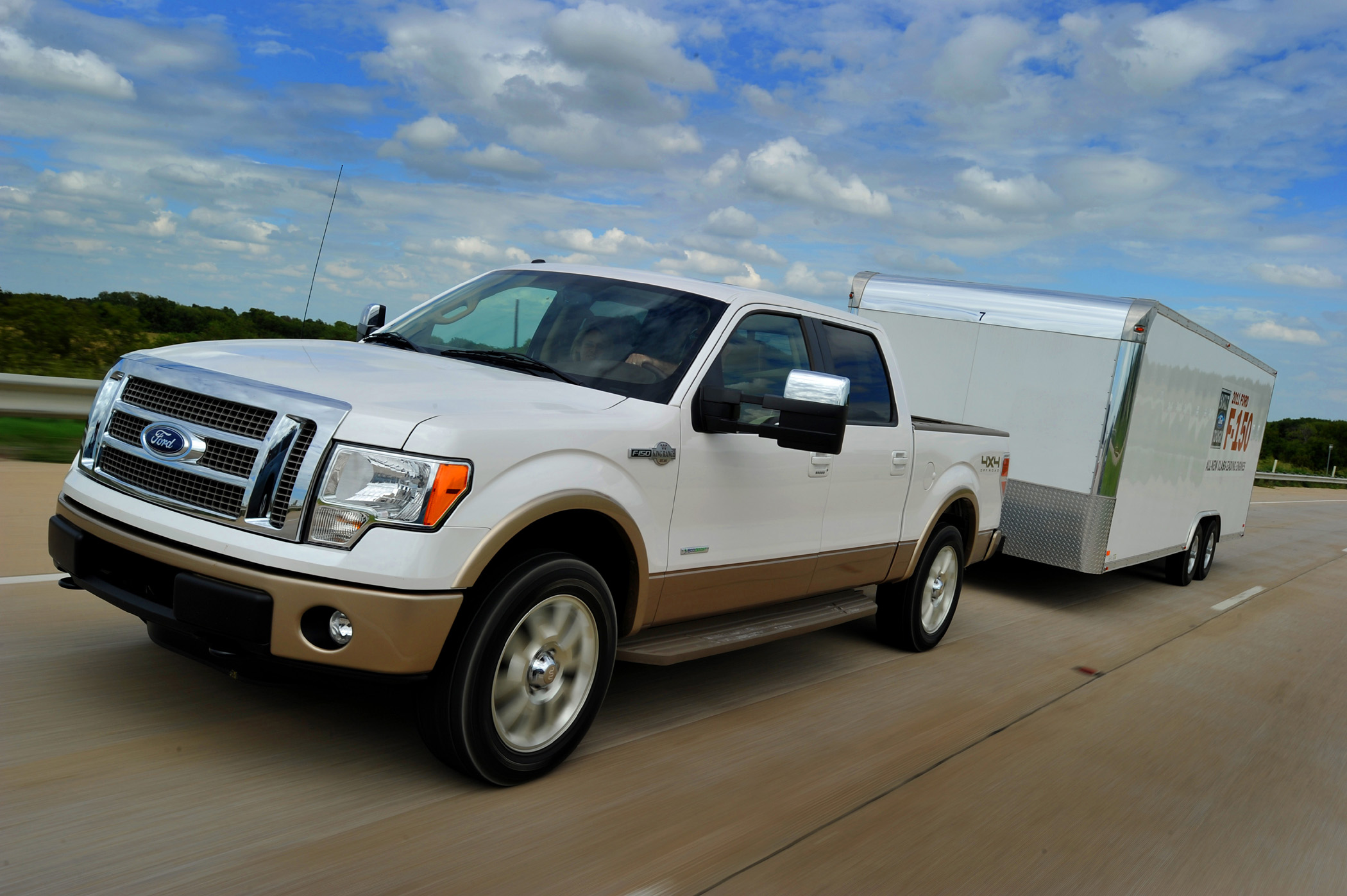 Manufacturer photo fords special edition king ranch f 150 supercrew 4x4 is offered