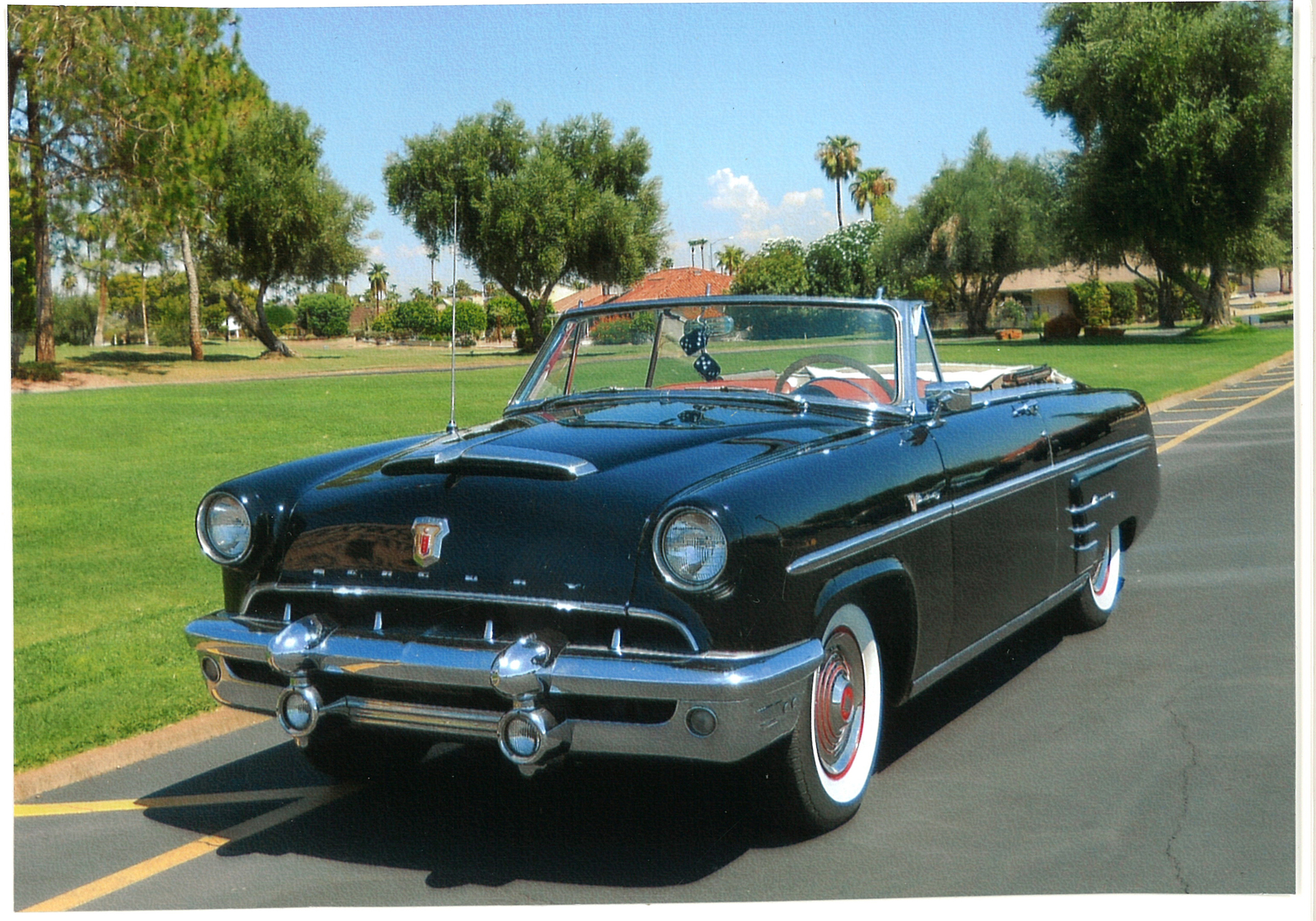 1953 Mercury Convertible Was High School Graduation Present ...