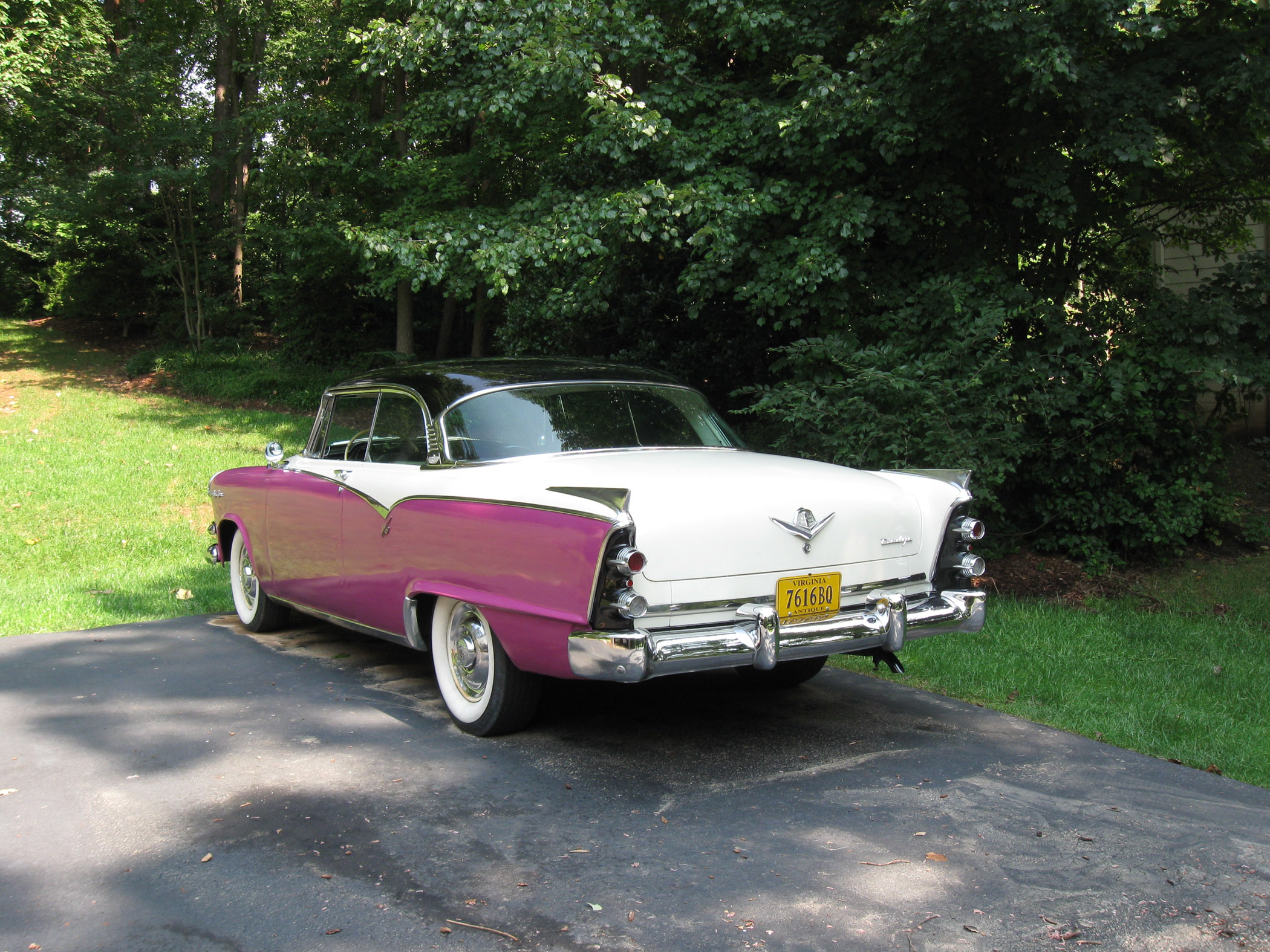 Friedl Thought This Multi Colored Dodge Personified The 1950s A Cursory Inspection Revealed Hardly Any Rust And No Body Damage On Test Drive He Noticed