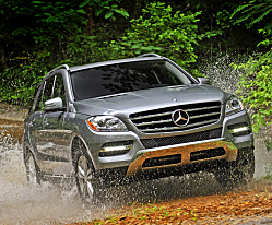 Mercedes M-Class SUV is all-new for 2012