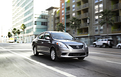 Nissan Versa Compact Sedan is All-New for 2012