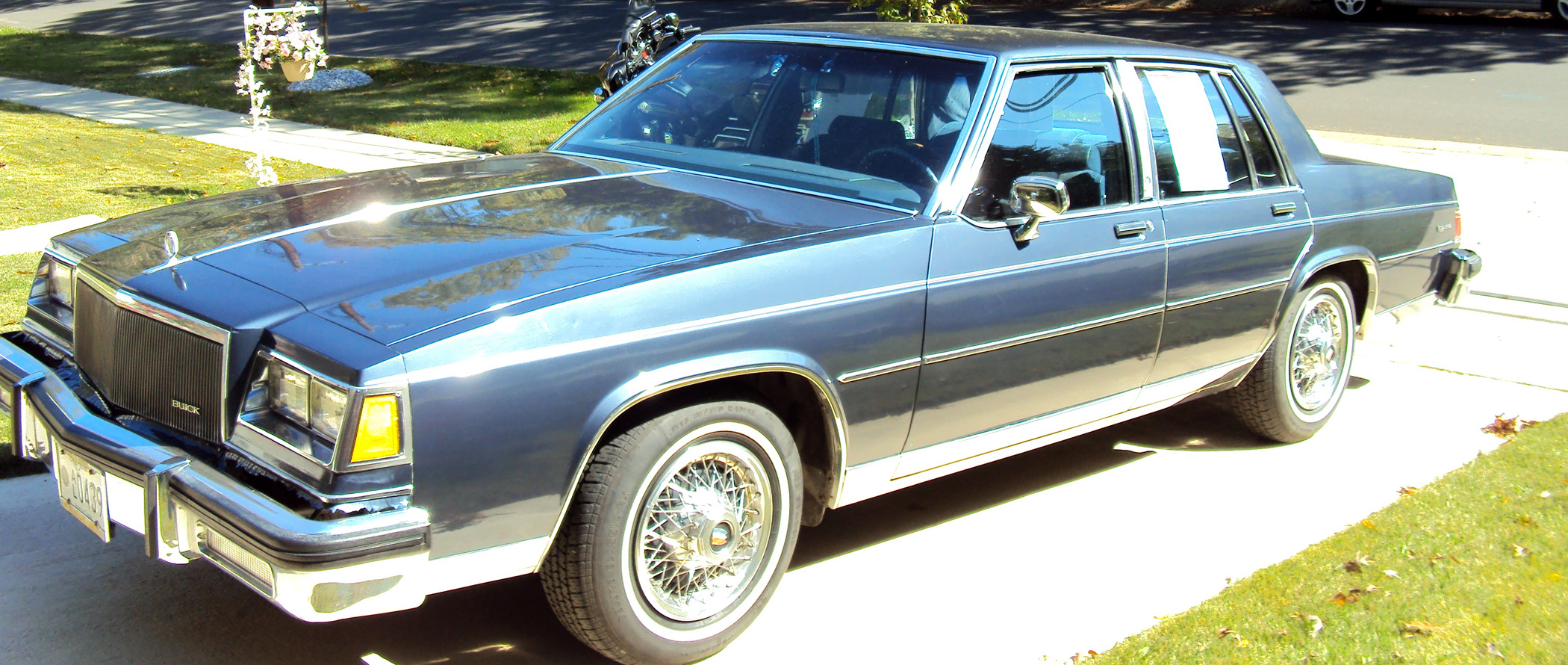 1984 Buick Lesabre Purchased For Its Rear Wheel Drive Classic
