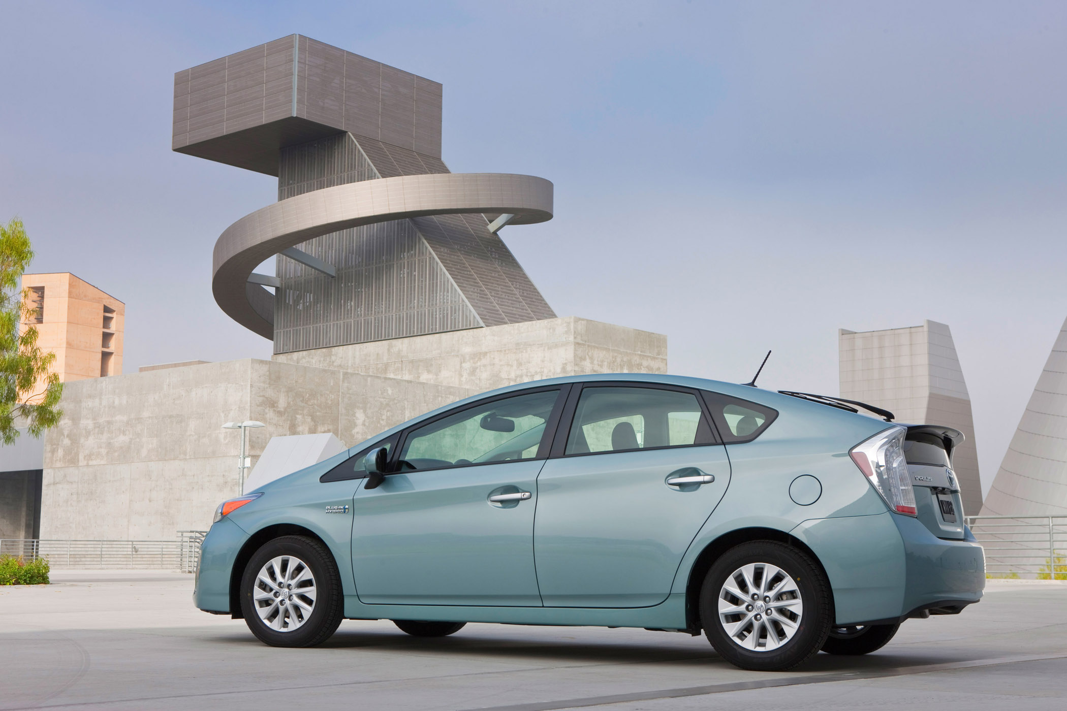 Manufacturer photo: Electric Vehicles starting to steam-roll into the automotive marketplace include the 2012 Mitsubishi iMiEV and the 2012 Toyota Prius Plug-in.