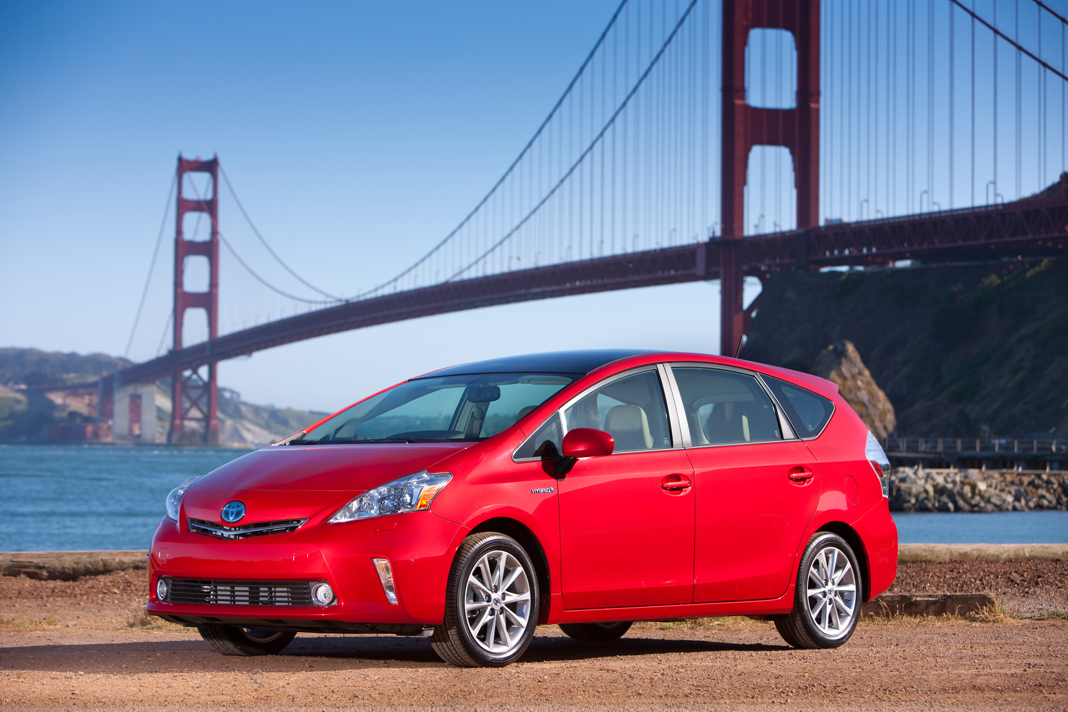 Manufacturer photo: The newest entrant in a growing Toyota Prius family of hybrid vehicles, the 2012 Prius v delivers a blend of versatility and fuel efficiency in a comfortable package