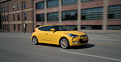 Unhinged on the Left -- Hyundai Veloster is 3-Door Coupe Hatch