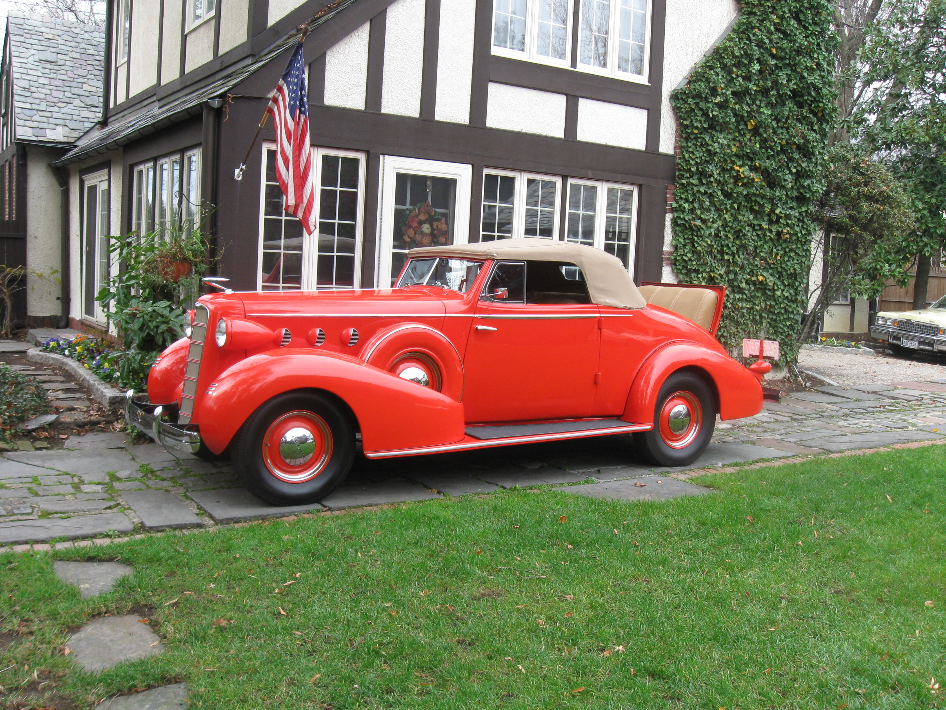 1935 LaSalle is a Beautifully Restored Convertible Coupe  Classic