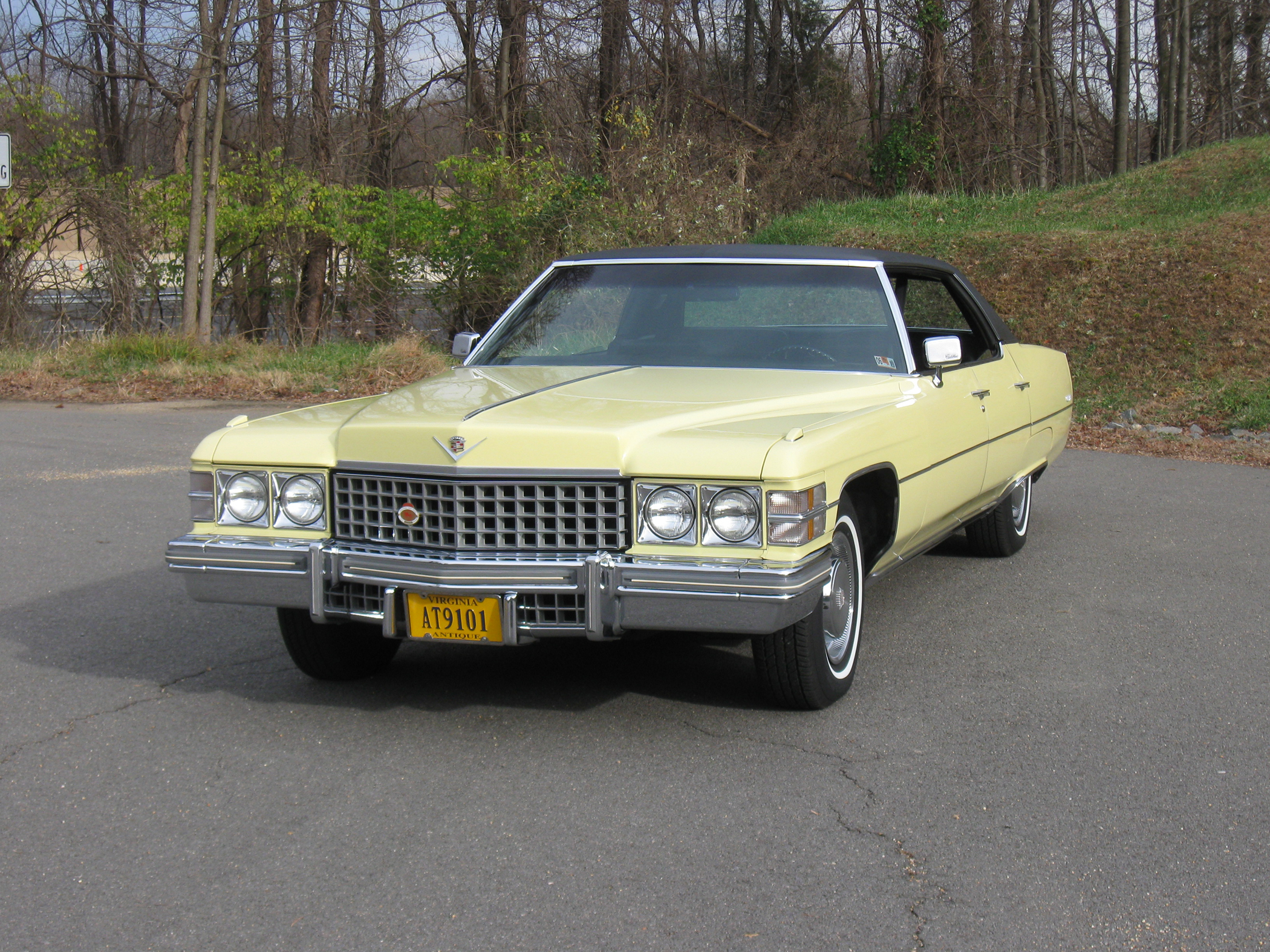 How Much Will My Car Payment Be >> Low-Mileage 1974 Cadillac Sedan deVille is Pristine - Classic Classics - - GrooveCar