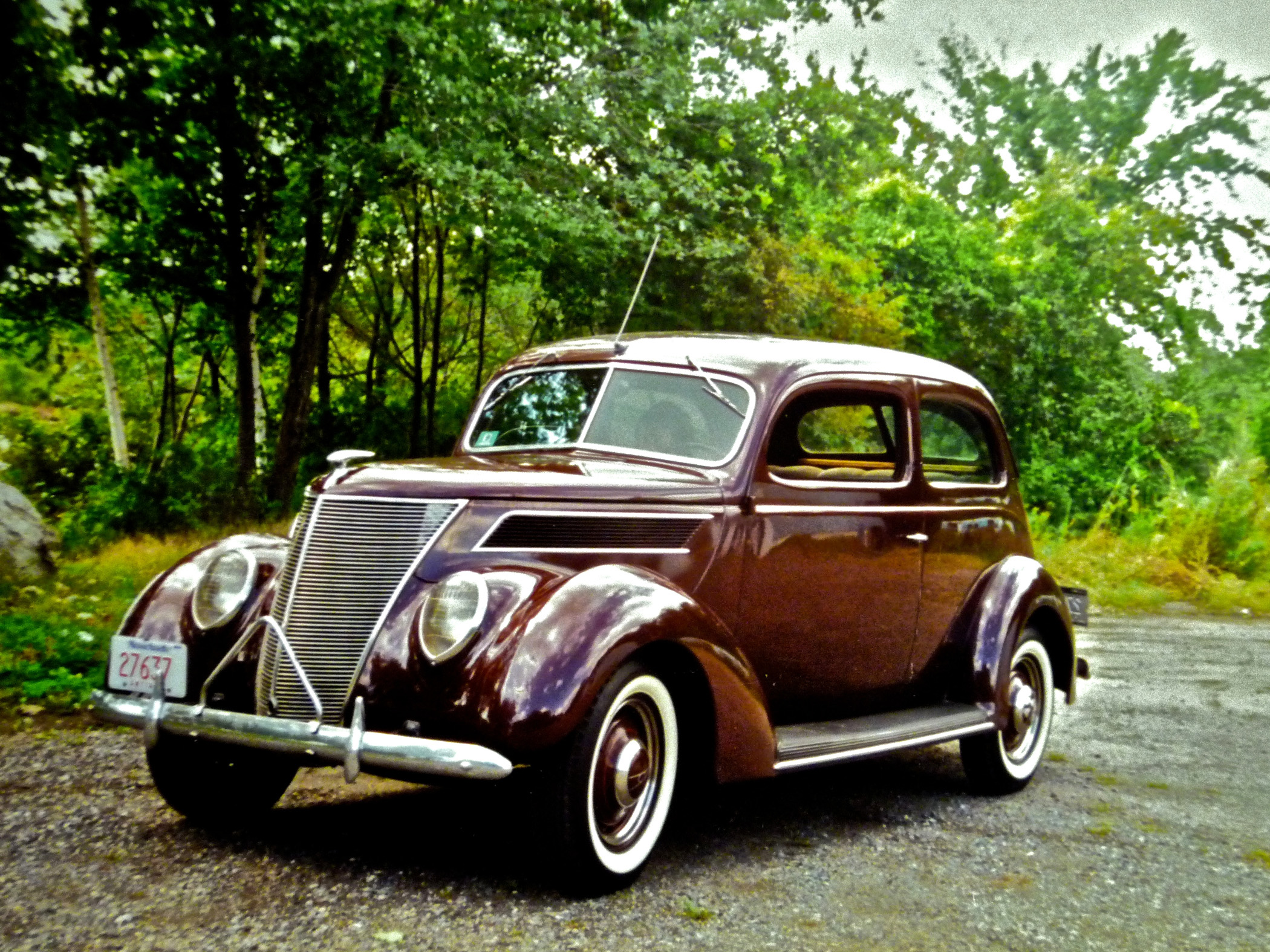 1937 Ford Deluxe Tudor Touring Sedan Grabs Attention - Classic ...