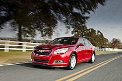 All-New 2013 Chevrolet Malibu Eco Hits the Showrooms