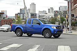 Nissan Frontier Stays in Forefront of Its Class
