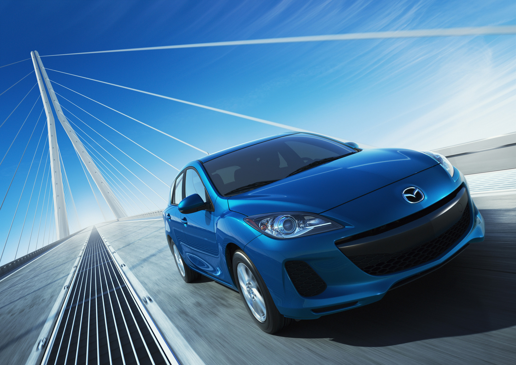 The 2012 mazda3 includes the first use of the automaker s all new fuel efficient performance oriented skyactiv technology which delivers up to 21 percent