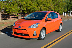 C is for City in Toyota's 2012 Prius c