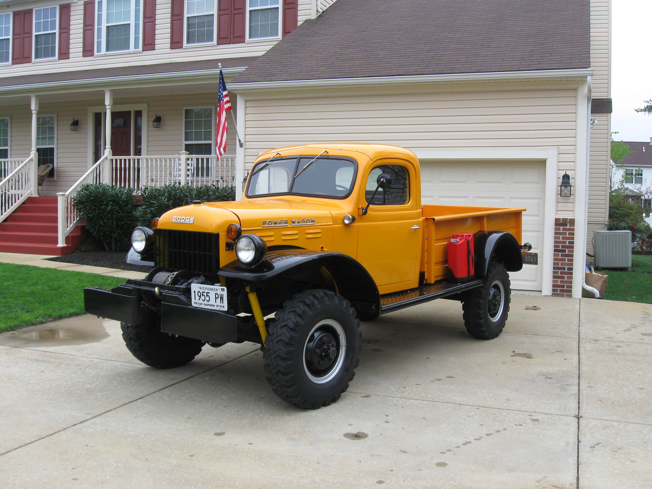 Search for `Real Man\'s Truck\' Yields 1955 Power Wagon - Classic ...