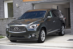 2013 Infiniti JX: Classy Player Added to Utility Team