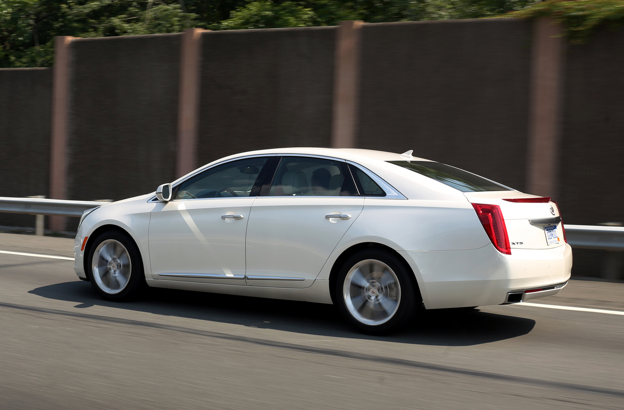 Cadillac We Do Large Sedans Well Down The Road Groovecar