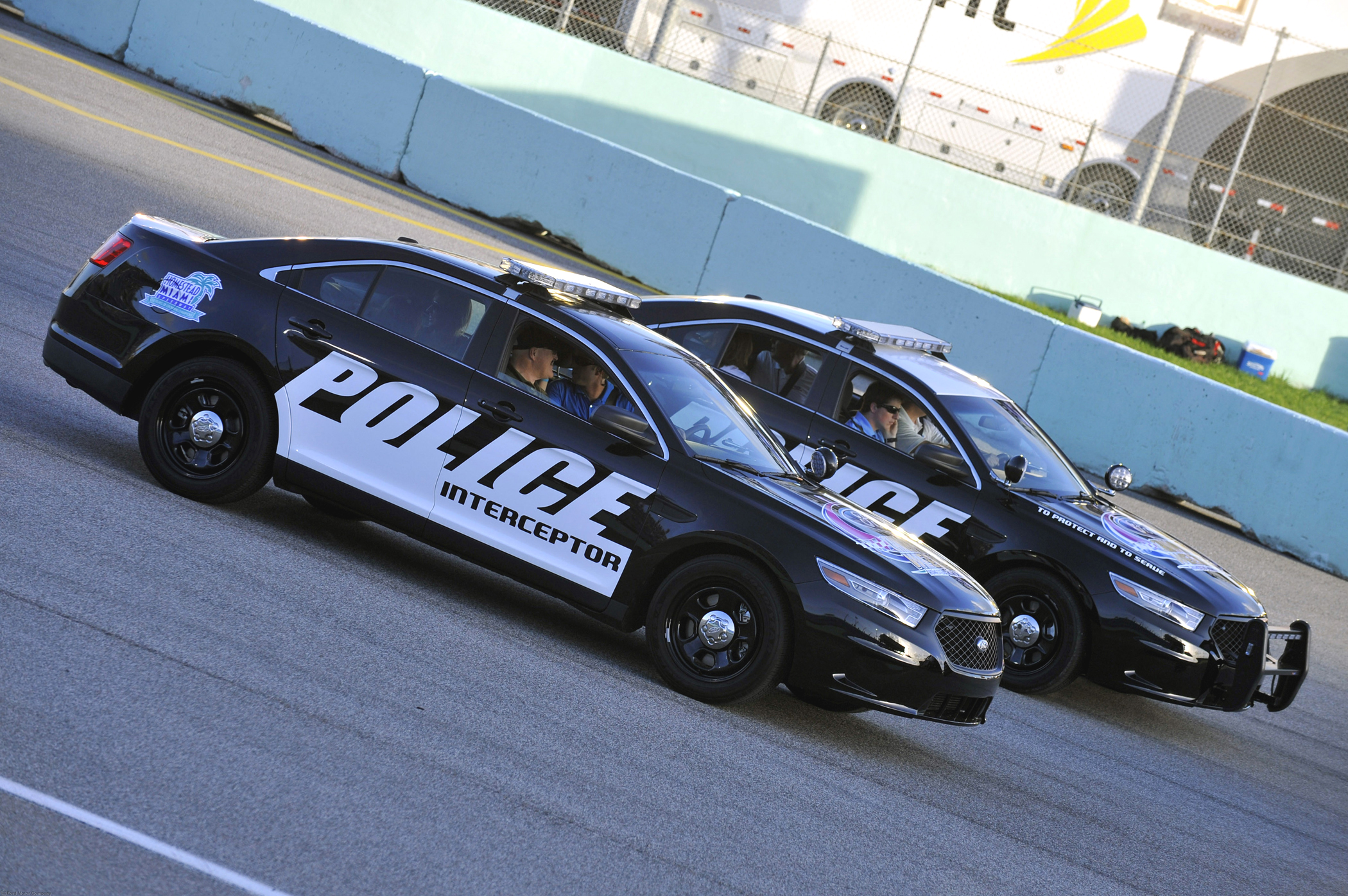 Manufacturer photo: Ford specifically designed and engineered an all-new Police Interceptor to handle the rigors of police work, including industry-leading powertrain, safety and technology innovations