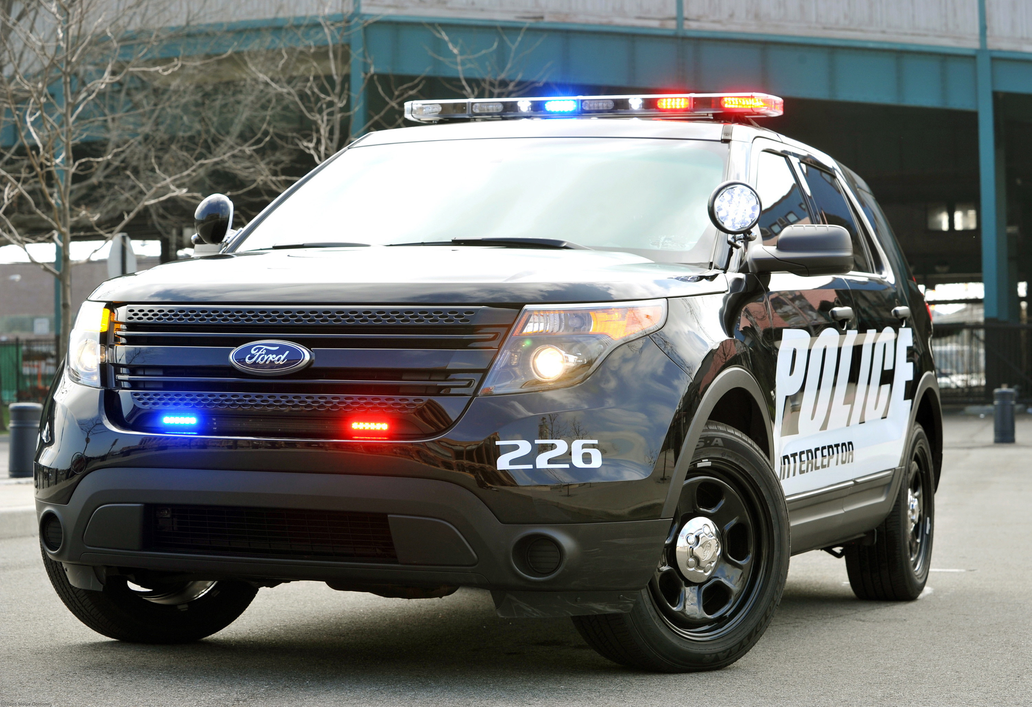 Manufacturer Photo Ford Specifically Designed And Engineered An All New Police Interceptor To Handle