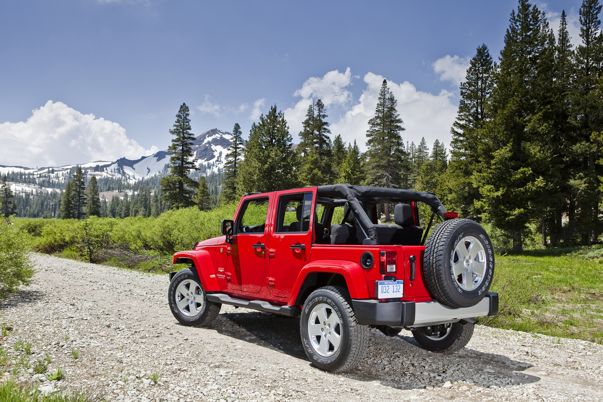 Mountain Goat Coolness in 2012 Jeep Wrangler Unlimited Get f the