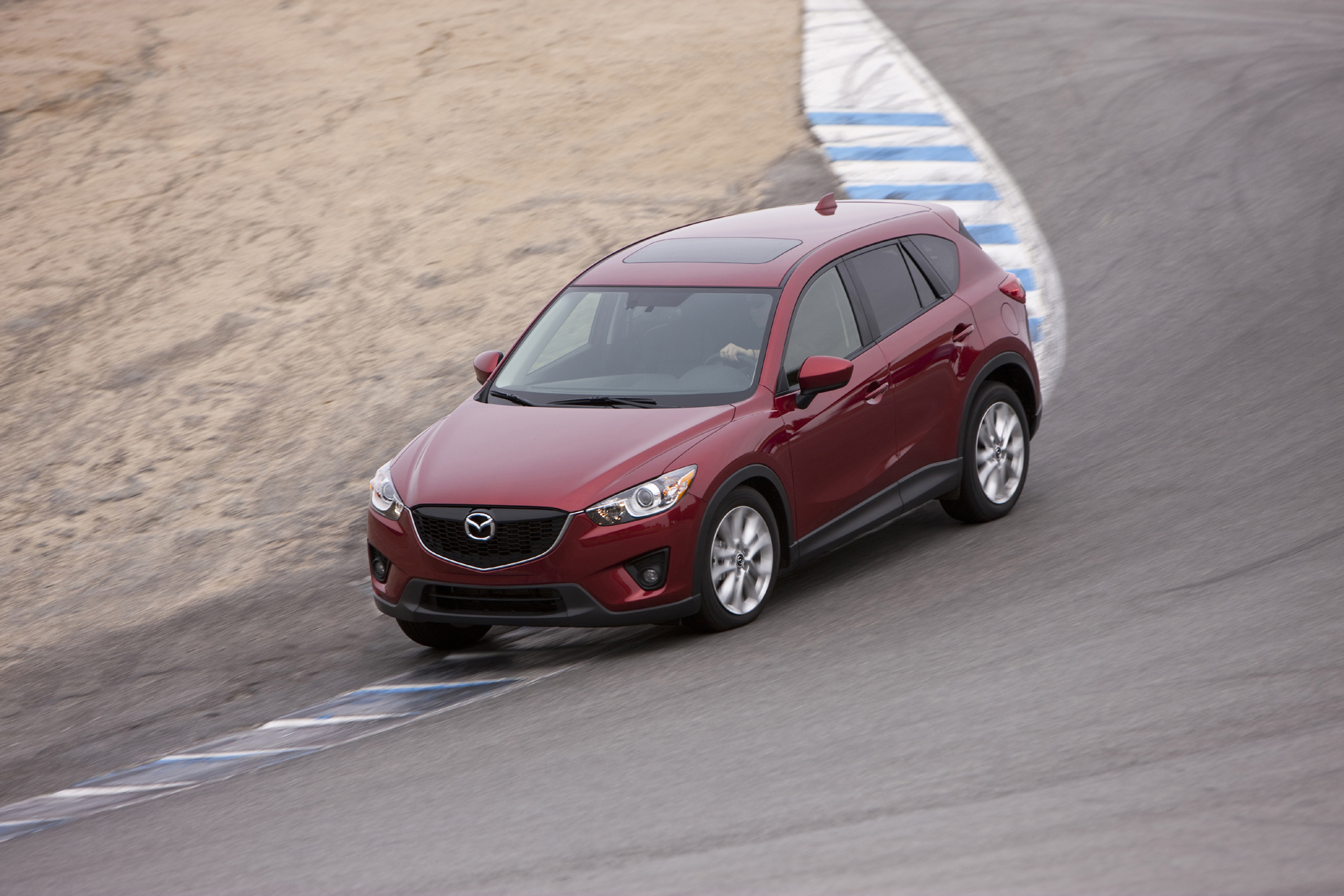 2013 mazda cx-5 compact crossover suv gets 35 mpg - new on wheels