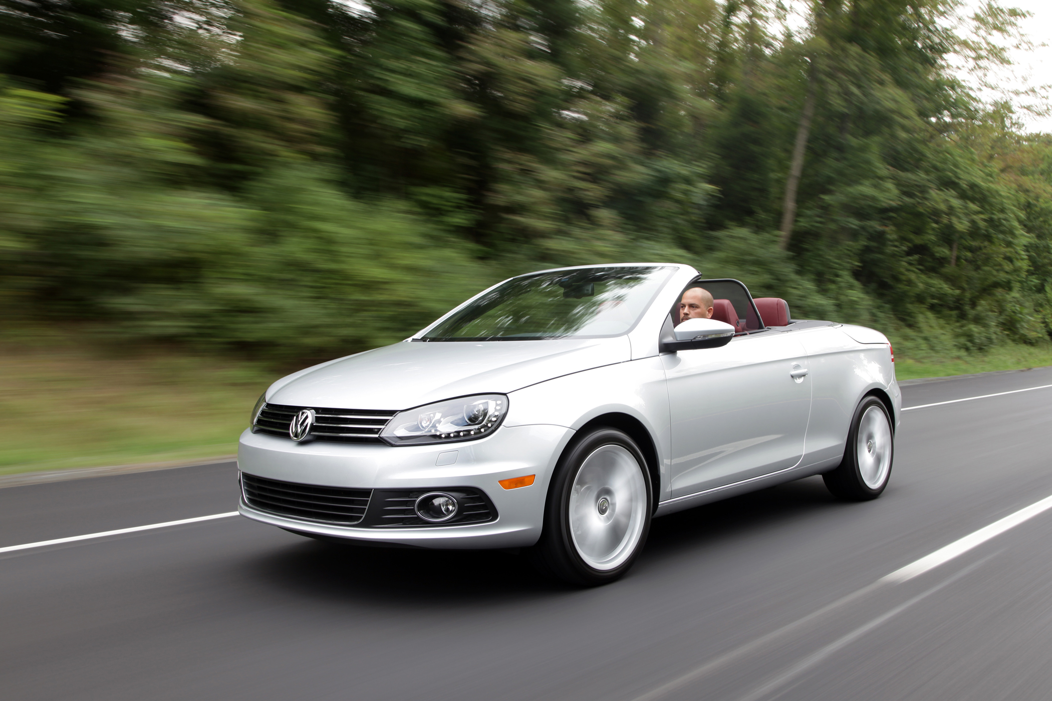 vw convertible coupe extensively revamped 2012 eos bonus wheels groovecar. Black Bedroom Furniture Sets. Home Design Ideas